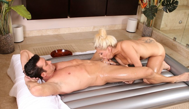 Nuru Massage Mariah Maddisyn and Billy Glide